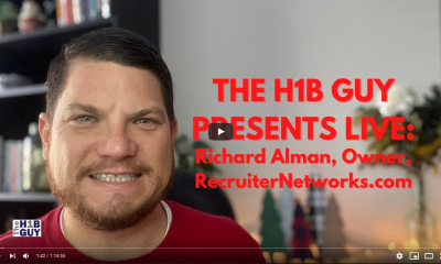 H 1B GUY RICHARD ALMAN RECRUITER NETWORKS